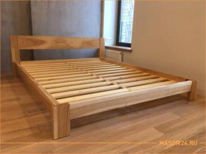 Каркас кровати из массива ясеня