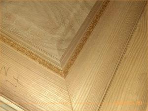 Фасады из массива дерева для производителей мебели