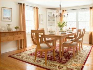 Мебель из массива дерева для столовой в ЭКО стиле